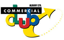 commercial club logo